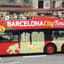 BARCELONA CITY TOUR: HOP ON HOP OFF + CAMP NOU EXPERIENCE MUSEO F.C. BARCELONA