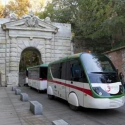 THE ALHAMBRA SURROUNDINGS WALKING TOUR + CITY TOUR TRAIN