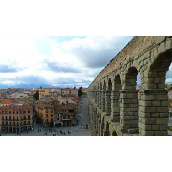 AVILA - SEGOVIA FULL DAY (TOURISTIC LUNCH) + MADRID SIGHTSEEN TOUR