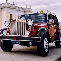 MADRID PANORAMIC IN A LUXURY VINTAGE CAR
