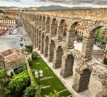 segovia tour by train AVE